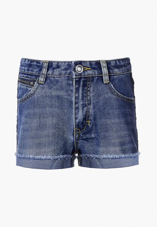 шорты gulliver для девочки, синие