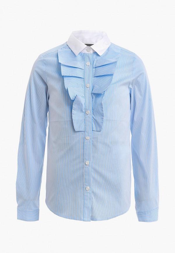 блузка gulliver для девочки, голубая