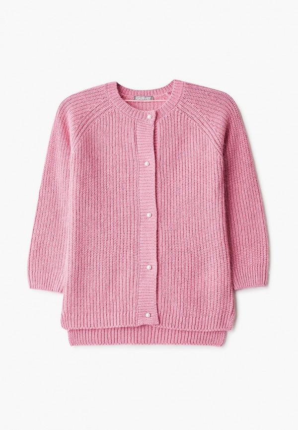 кардиган gulliver для девочки, розовый