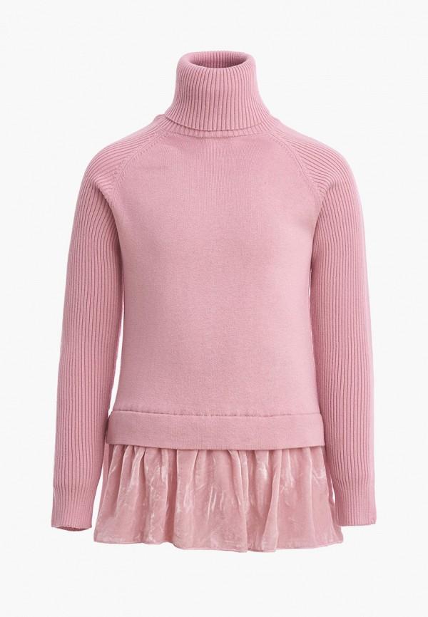 водолазка gulliver для девочки, розовая