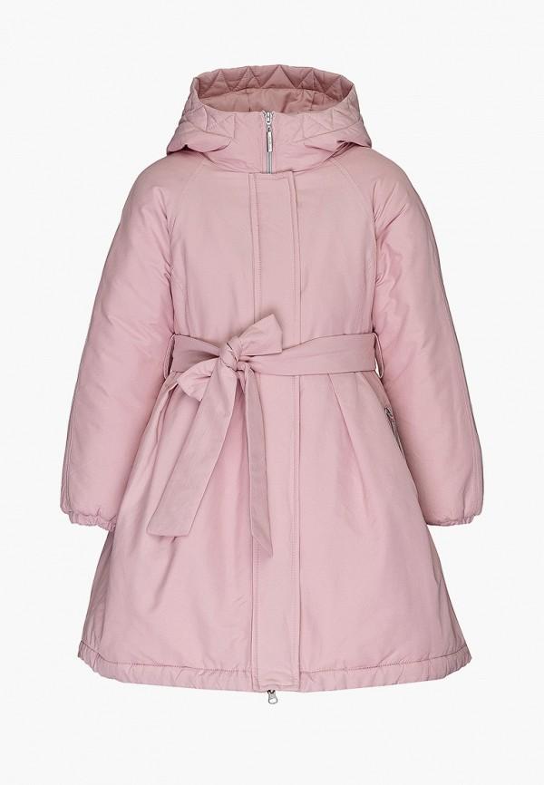 куртка gulliver для девочки, розовая