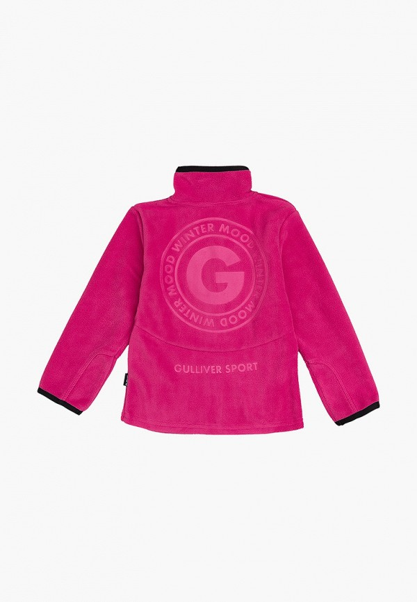 олимпийка gulliver для девочки, розовая