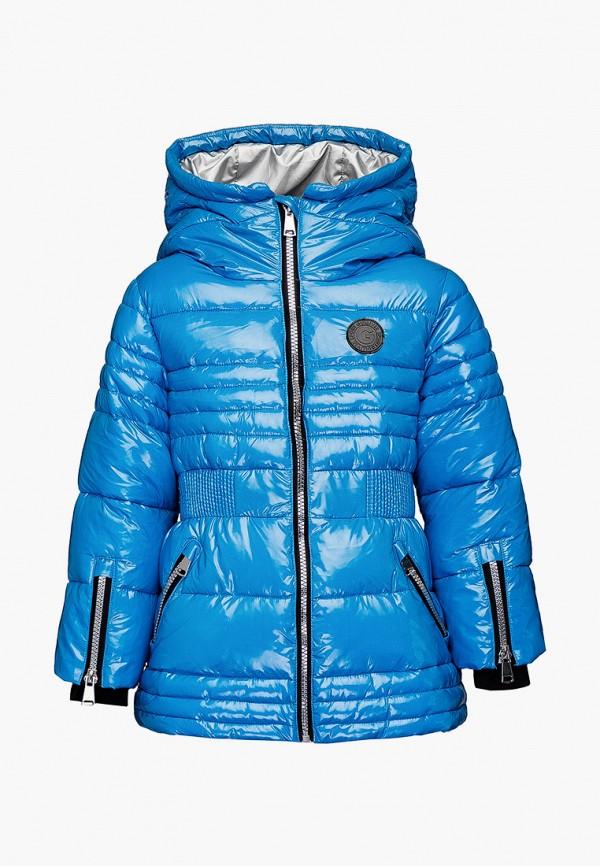 куртка gulliver для девочки, синяя