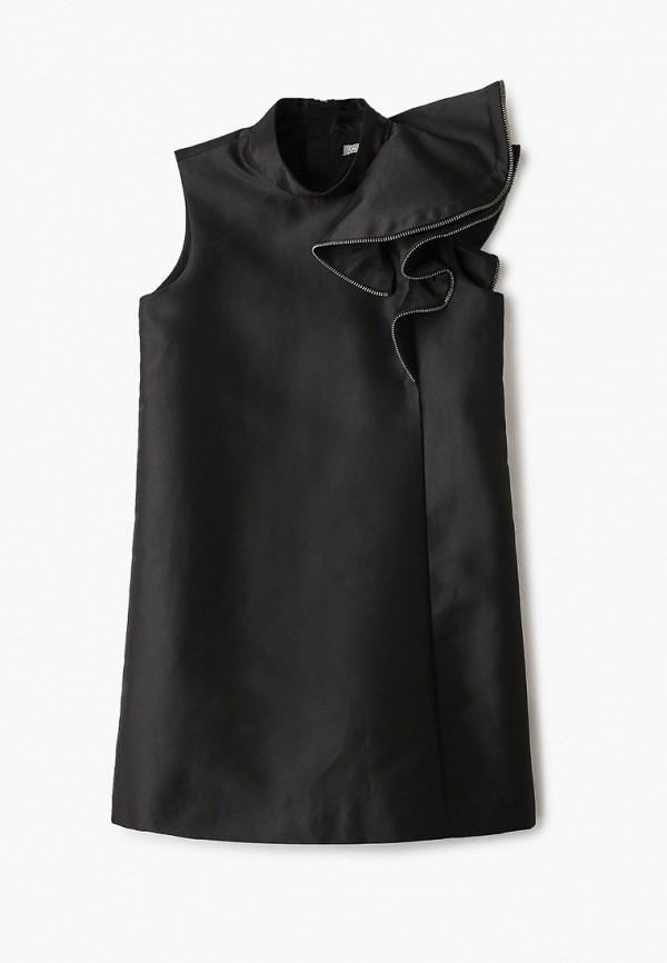 повседневные платье gulliver для девочки, черное