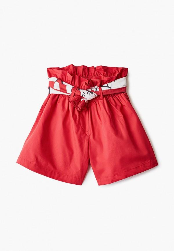 шорты gulliver для девочки, красные