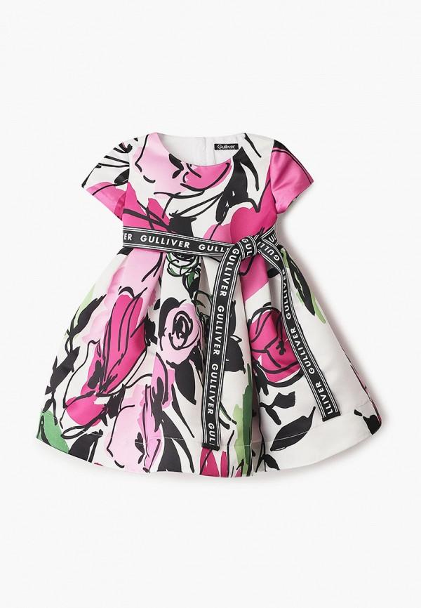 платье gulliver для девочки, разноцветное