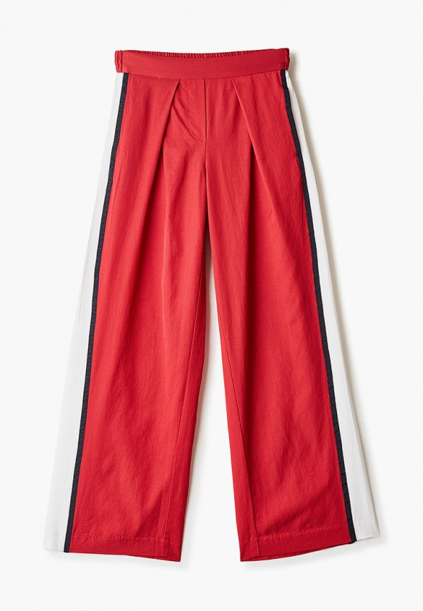 брюки gulliver для девочки, красные