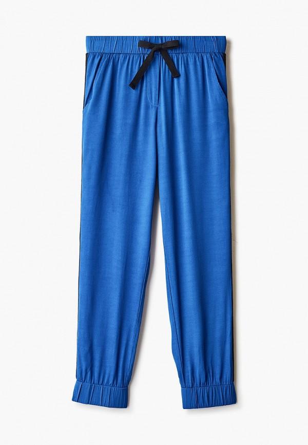 спортивные брюки gulliver для девочки, синие