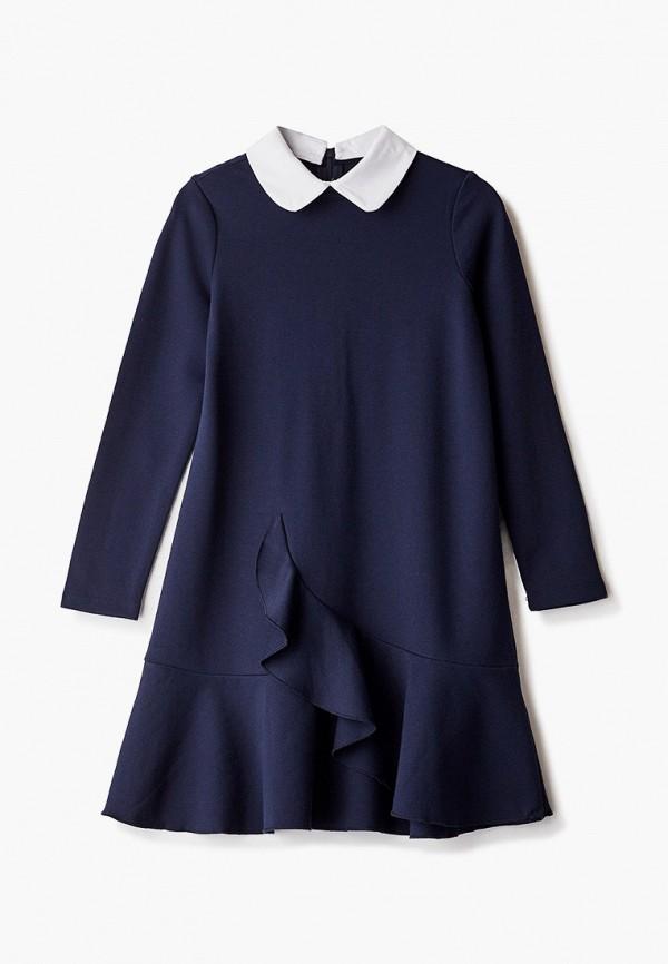 повседневные платье gulliver для девочки, синее