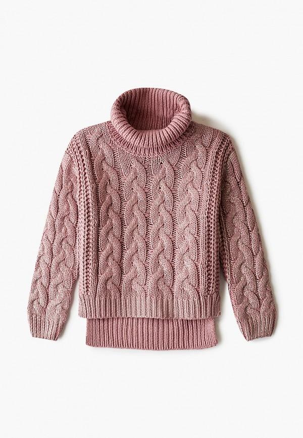 свитер gulliver для девочки, розовый