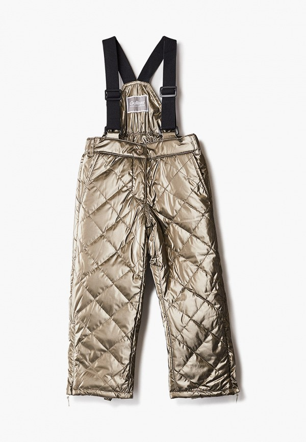брюки gulliver для девочки, золотые