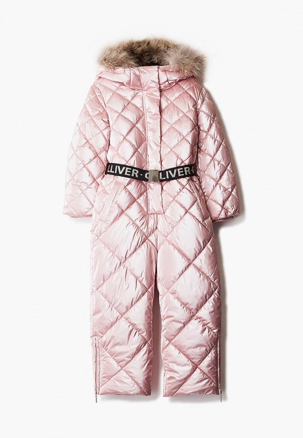 комбинезоны и костюмы gulliver для девочки, розовые