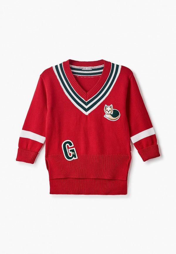 Пуловер Gulliver Gulliver 22002GMC3101 красный фото
