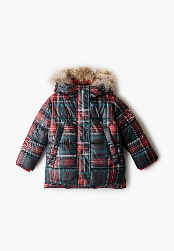 куртка gulliver для девочки, зеленая