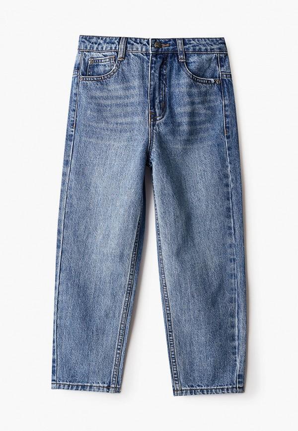 джинсы gulliver для девочки, голубые