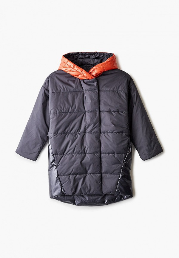 куртка gulliver для девочки, серая