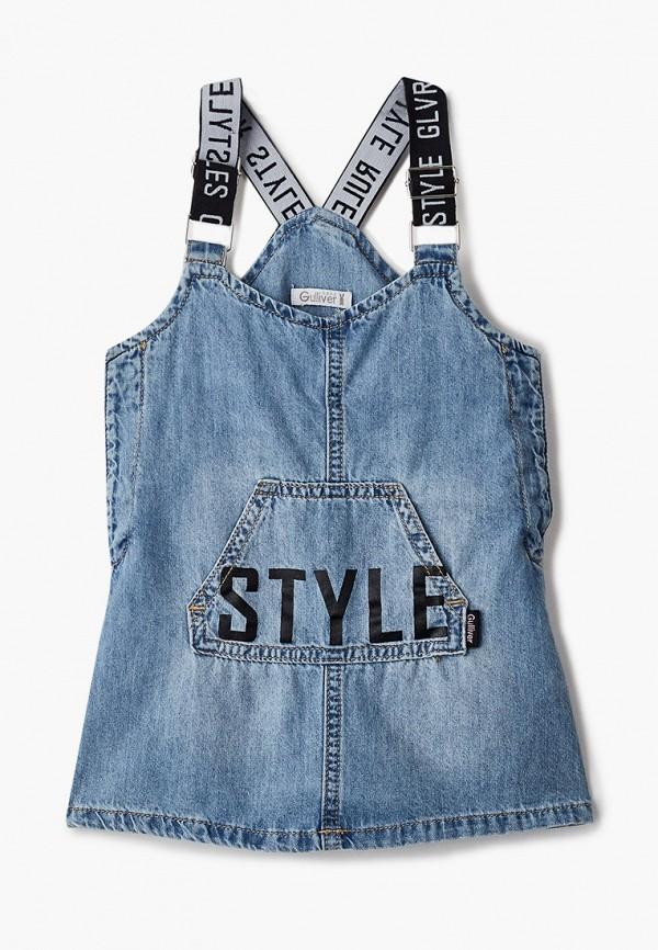 Платья для девочки джинсовое Gulliver 12131GBC2501