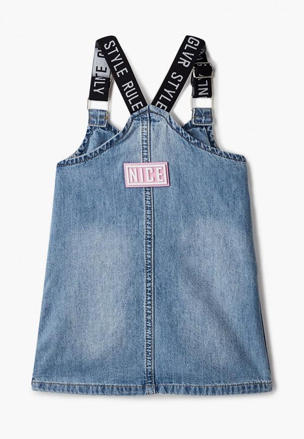 Платья для девочки джинсовое Gulliver 12131GBC2501 Фото 2