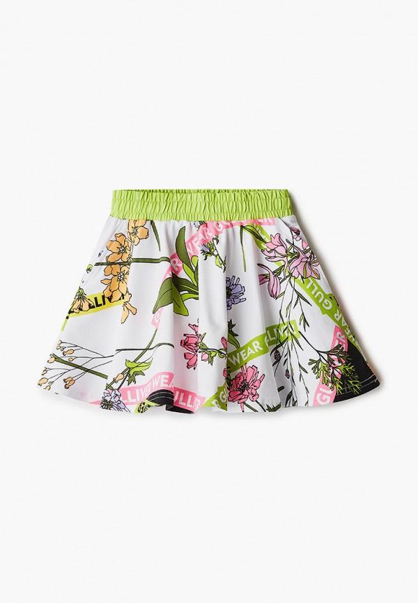 юбка gulliver для девочки, разноцветная