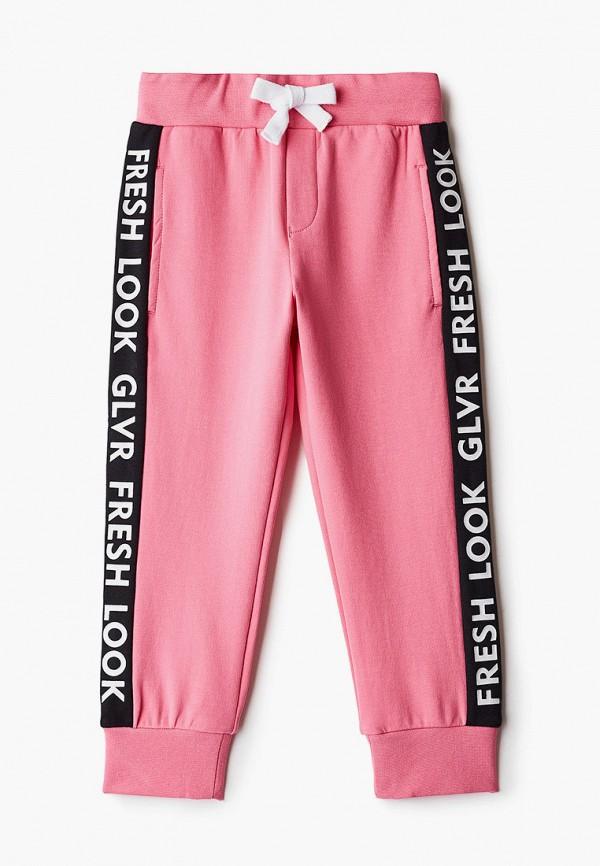 спортивные брюки gulliver для девочки, розовые