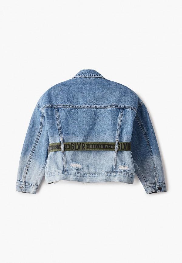 Куртка для девочки джинсовая Gulliver 12108GJC4002 Фото 2