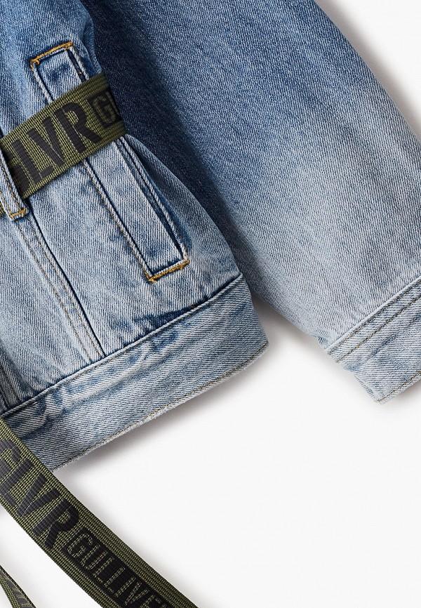 Куртка для девочки джинсовая Gulliver 12108GJC4002 Фото 3
