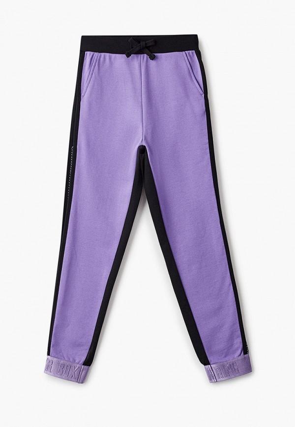 спортивные брюки gulliver для девочки, фиолетовые