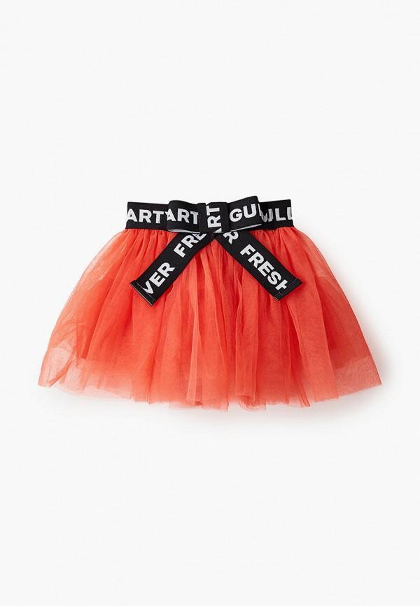 юбка gulliver для девочки, красная