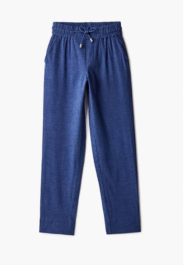 брюки gulliver для девочки, синие