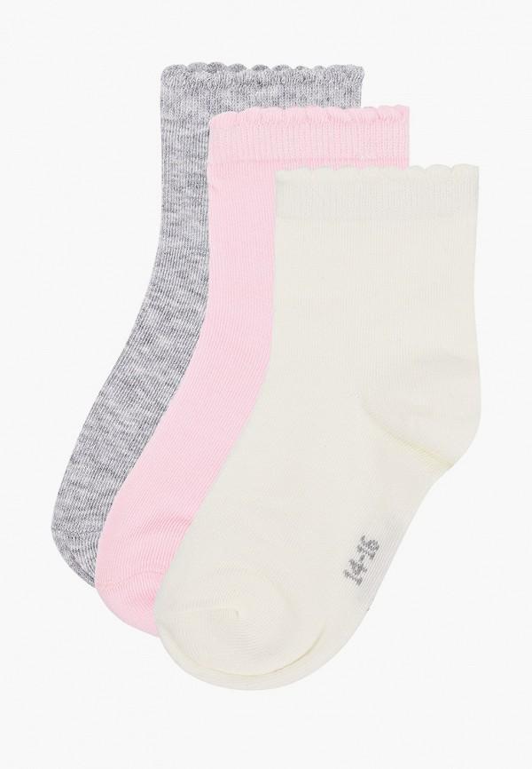 носки gulliver для девочки, разноцветные