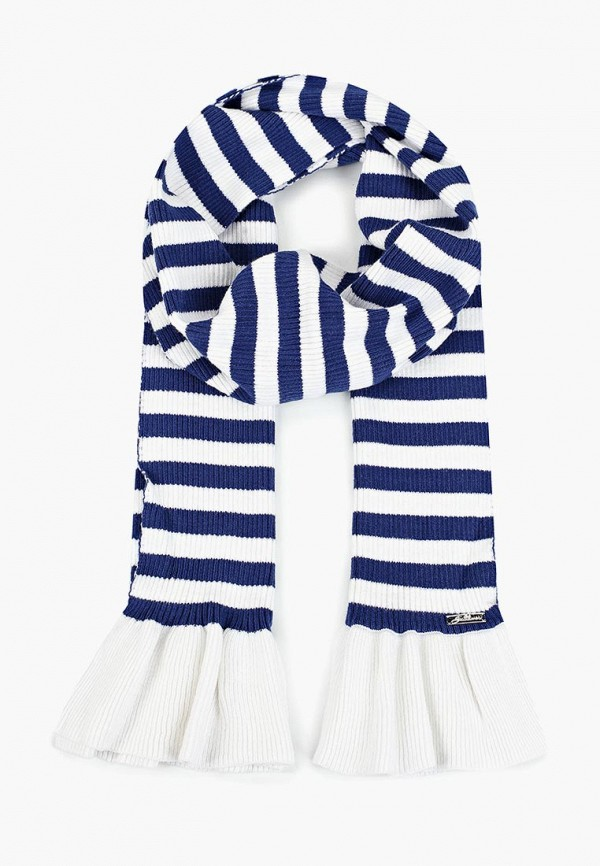 шарф gulliver для девочки, синий