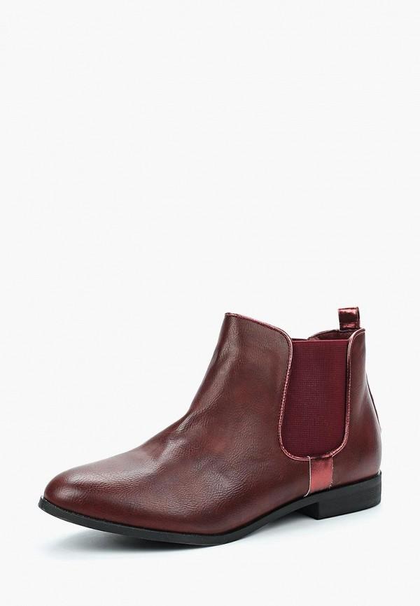 Купить Ботинки Guapissima, gu016awbgup1, бордовый, Весна-лето 2018