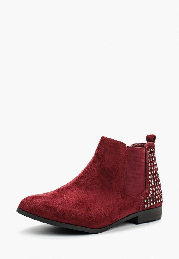 Купить Ботинки Guapissima, gu016awbilw8, бордовый, Весна-лето 2018