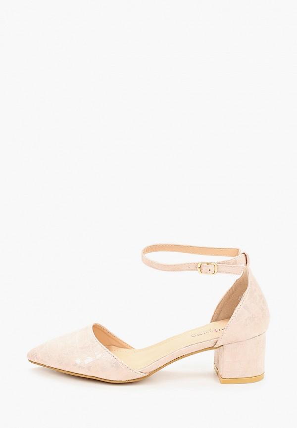 женские туфли guapissima, розовые
