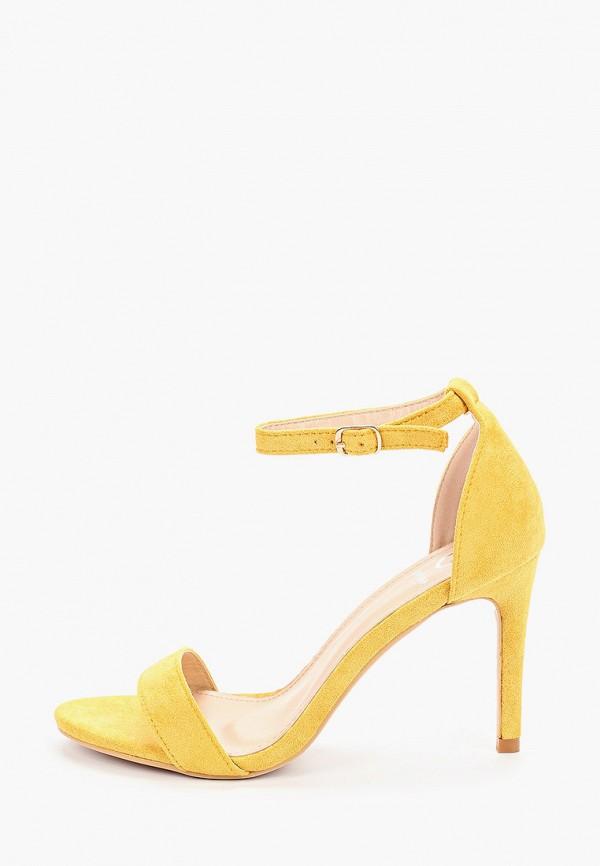 женские босоножки guapissima, желтые