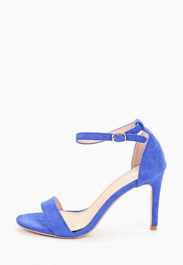 женские босоножки guapissima, синие