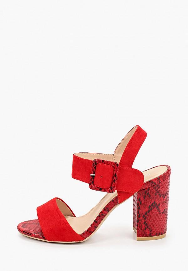 женские босоножки guapissima, красные