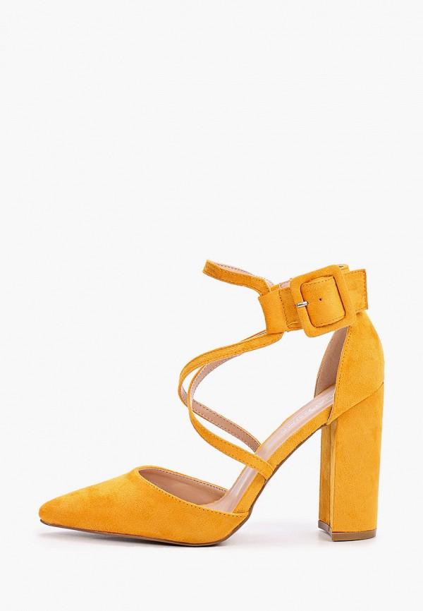 женские туфли guapissima, желтые