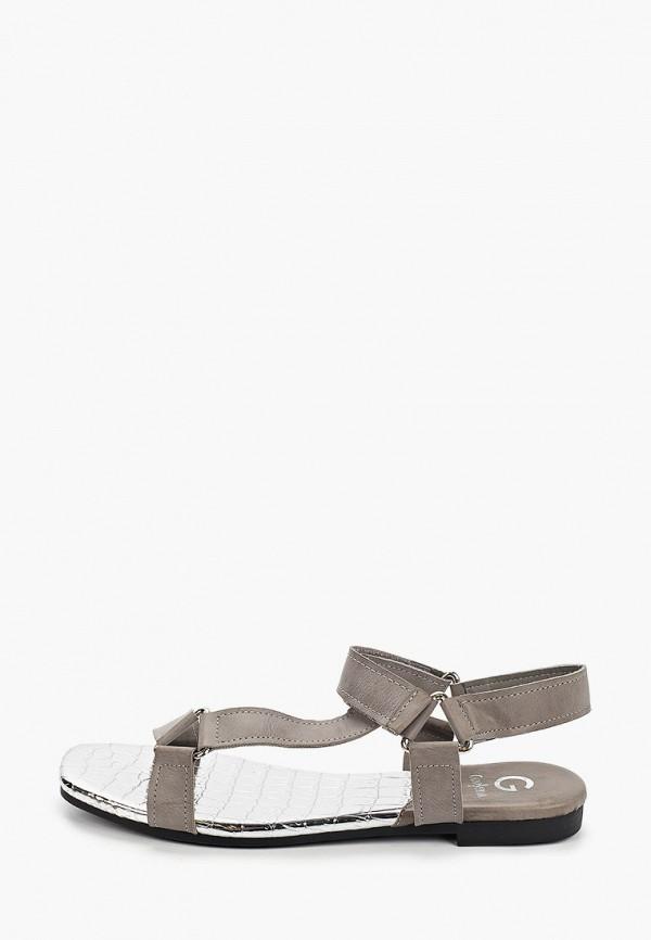 женские сандалии guapissima, серые