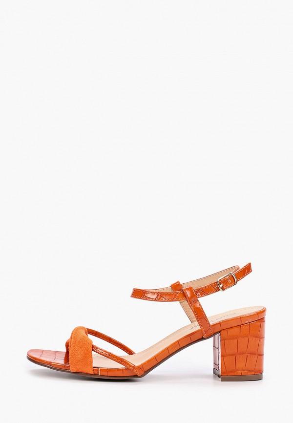 женские босоножки guapissima, оранжевые