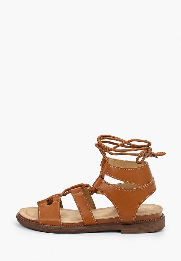 женские сандалии guapissima, коричневые