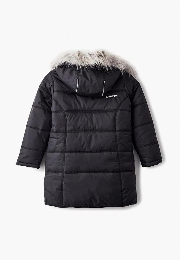 Куртка для девочки утепленная Gusti GWG 6811-BLACK Фото 2