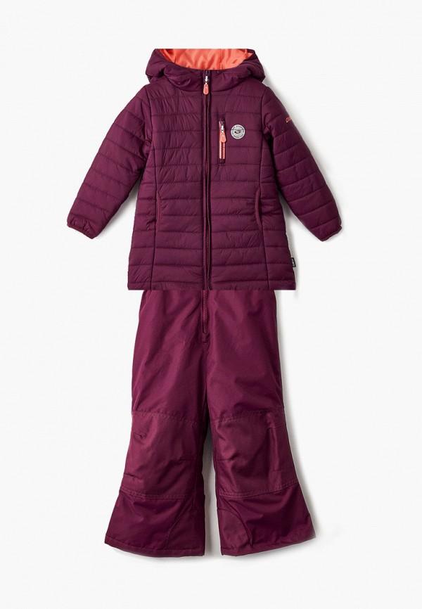куртка gusti для девочки, фиолетовая