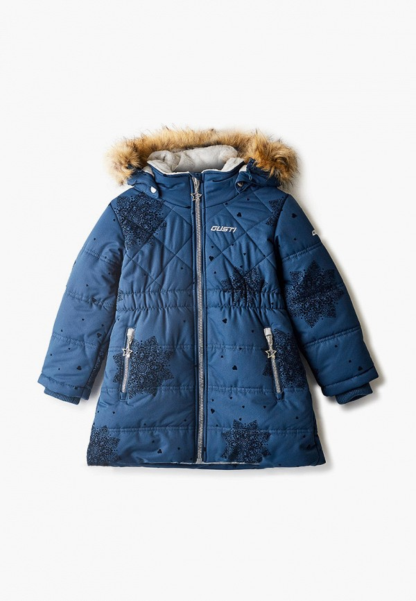 куртка gusti для девочки, синяя