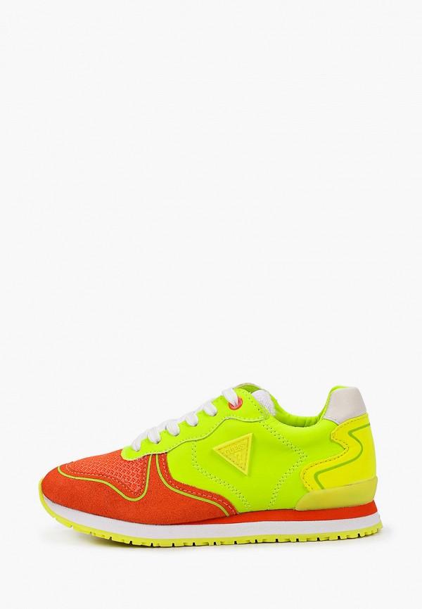 кроссовки guess для мальчика, разноцветные