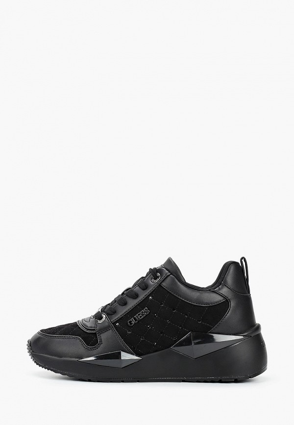 женские кроссовки guess, черные