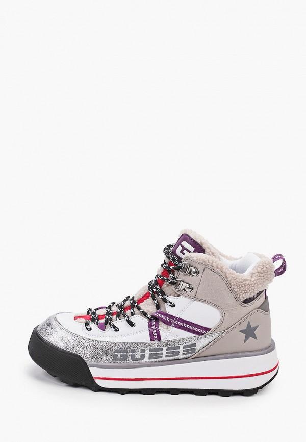 женские ботинки guess, разноцветные