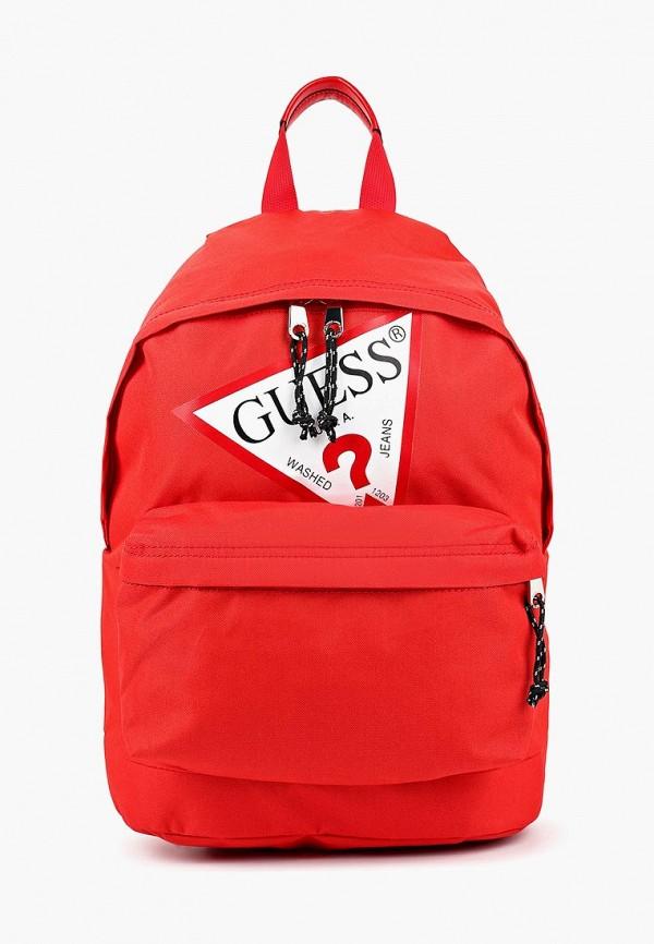 рюкзак guess для девочки, красный