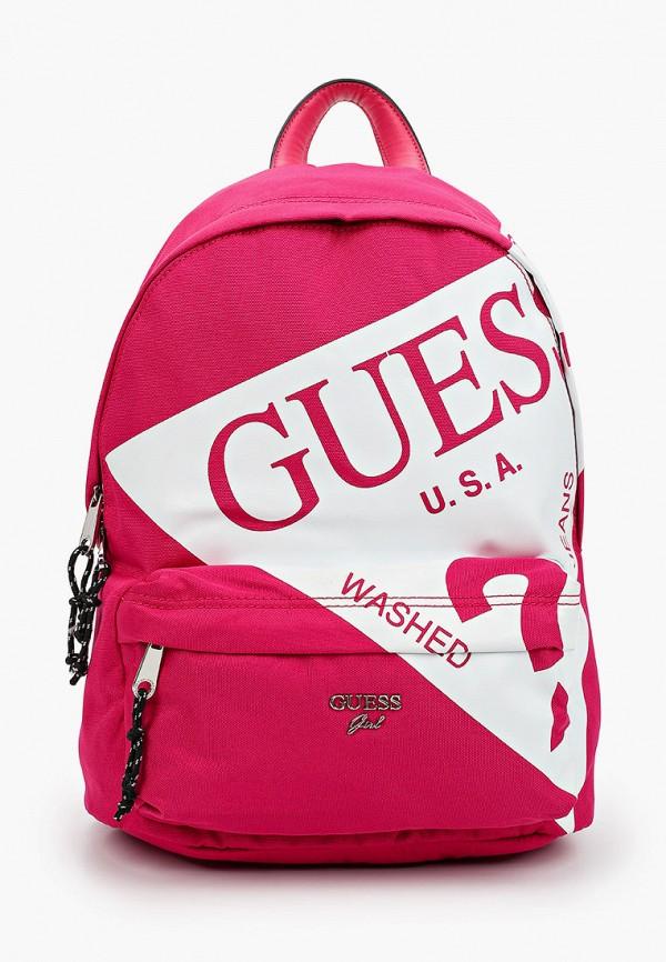 рюкзак guess для девочки, розовый