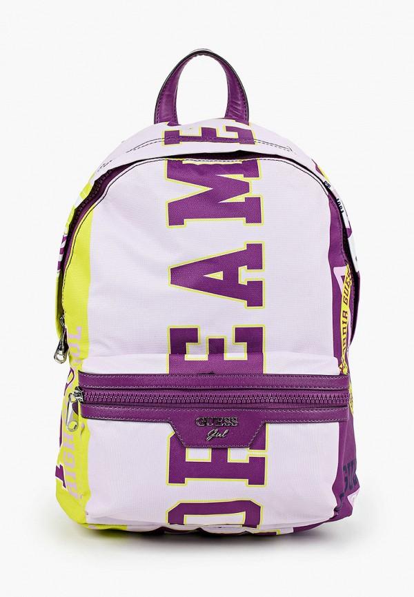 рюкзак guess для девочки, фиолетовый